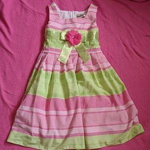 Rare Editions Striped Dress